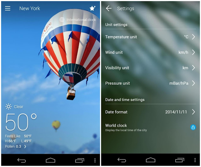 go weather forecast & widgets premium apk
