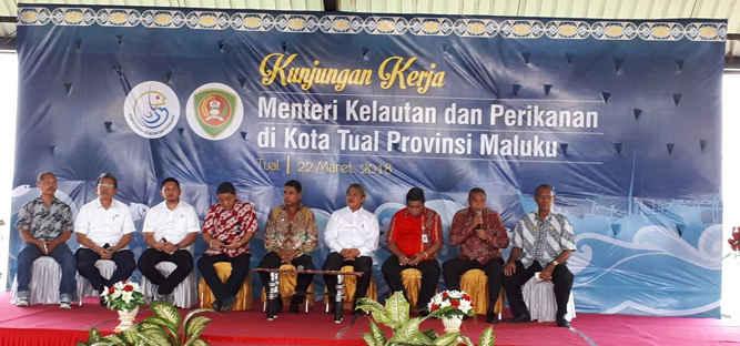 Direktur Jenderal (Dirjen) Perikanan Tangkap Kementerian Kelautan dan Perikanan (KKP), Sjarief Wijaja menyatakan Kota Tual adalah lumbung ikan yang luar biasa.