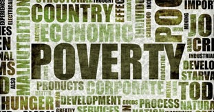 Absolute and overall poverty