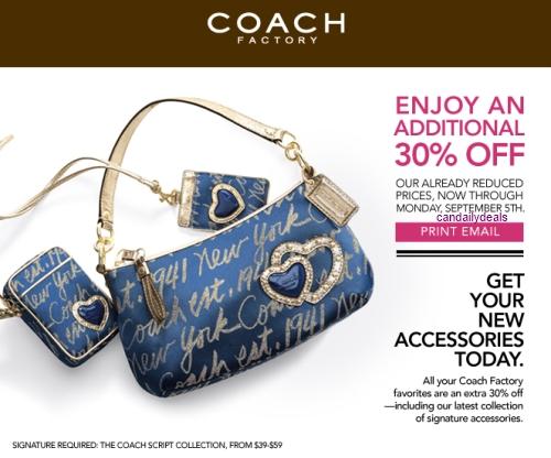 coach coupons canada