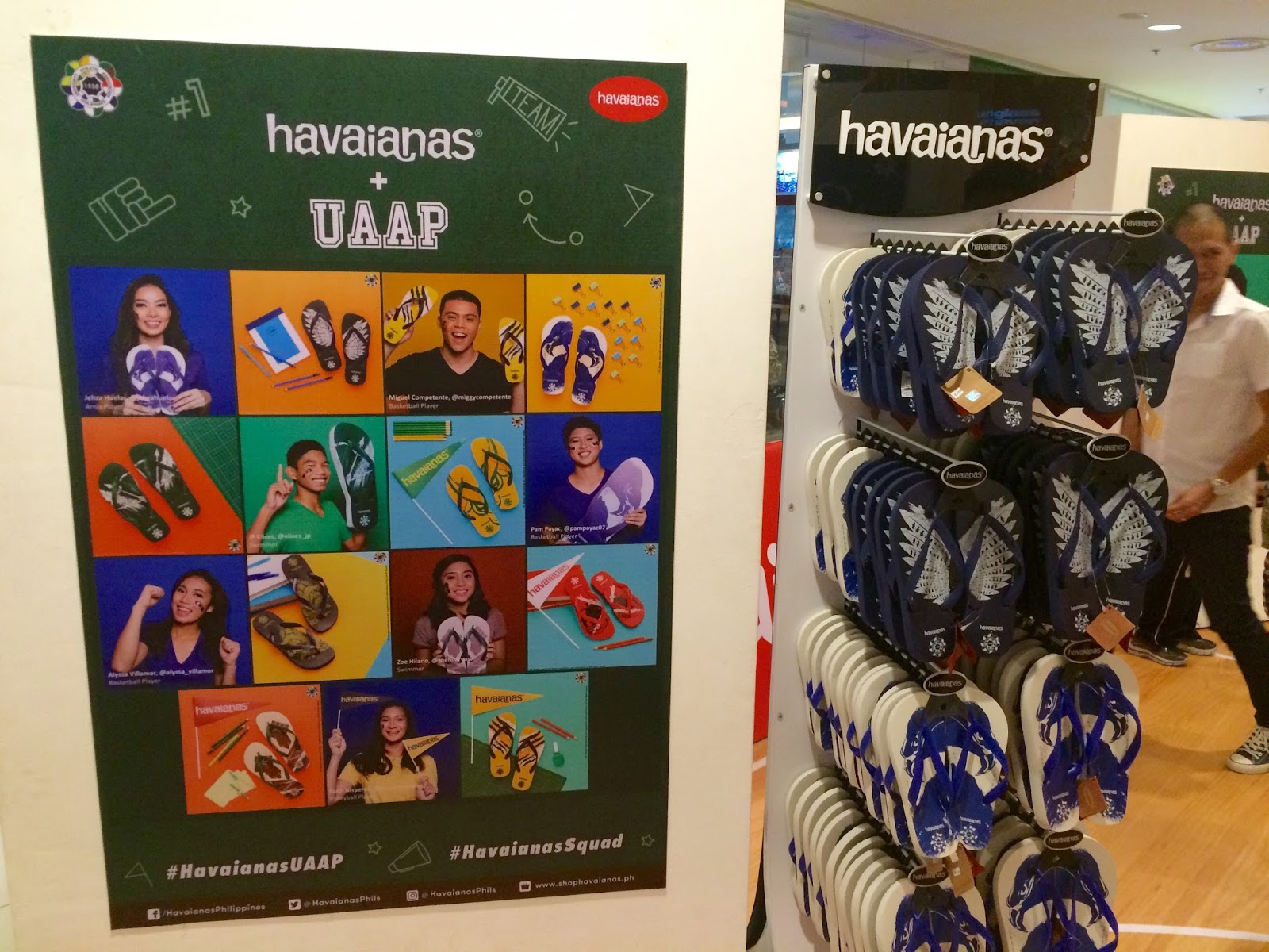 Havaianas + UAAP 2016 Pop-Up Shop and Photo Exhibit