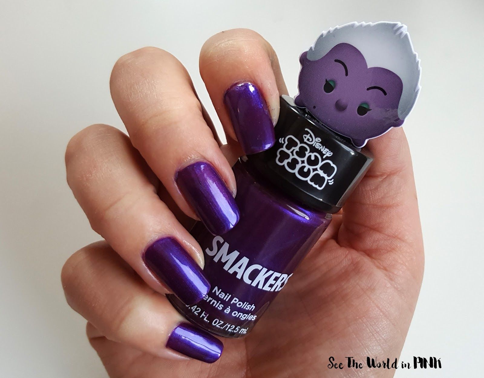 Manicure Tuesday - Lip Smacker Disney Tsum Tsum SMACKERS Halloween Nail Polish Collection