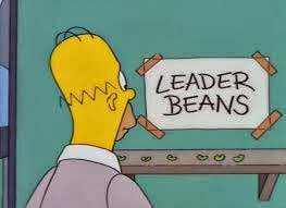 The Simpsons leader beans