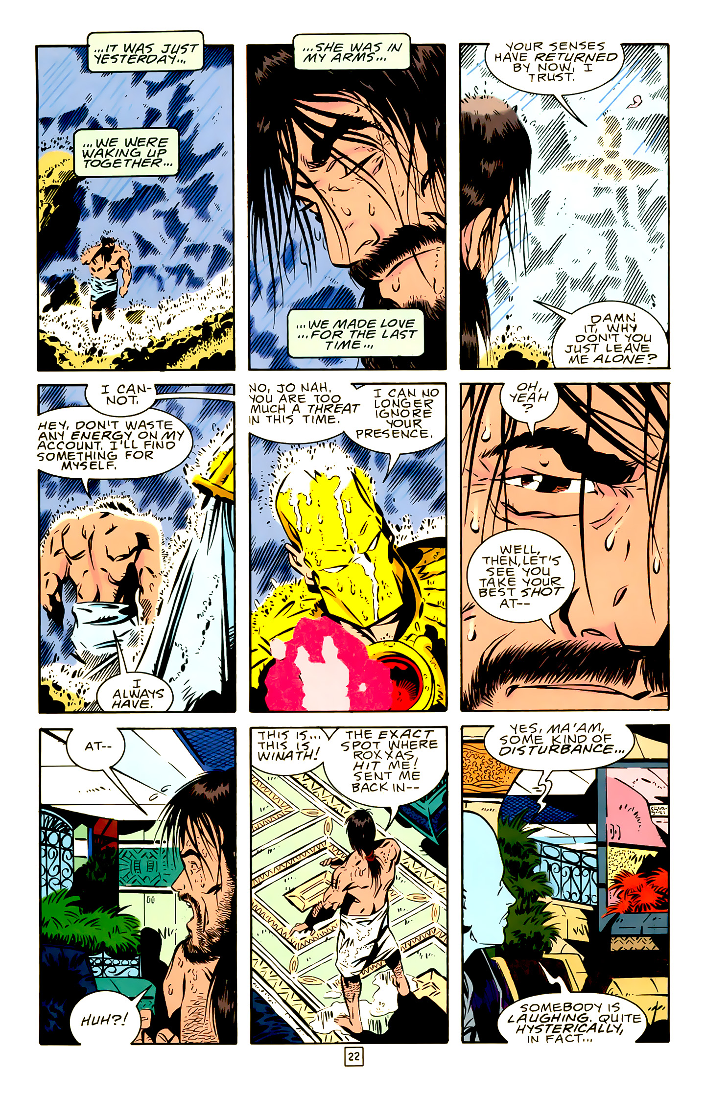 Legion of Super-Heroes (1989) 19 Page 22