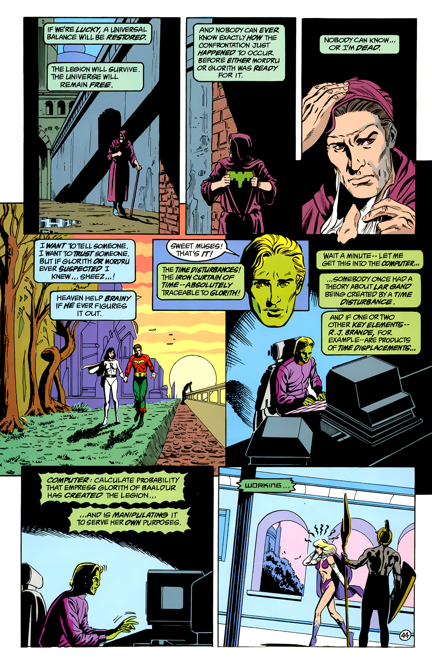 Legion of Super-Heroes (1989) _Annual_1 Page 44