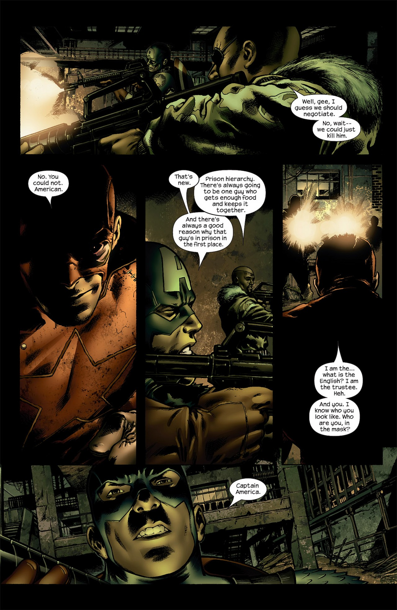 Read online Ultimate Nightmare comic -  Issue #4 - 16