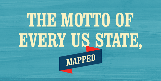 The Motto of Every US State, Mapped