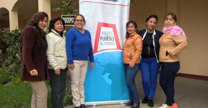 Docentes de Educación Básica Alternativa participan en Escuela de Invierno de Inglés