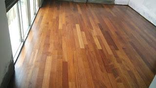 lantai kayu solid Binjai