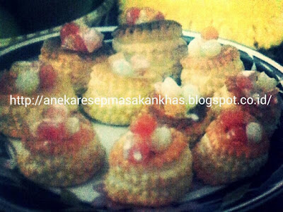 Resep kue Praktis Vol Au Vent Isi Fruit Cocktail sederhana