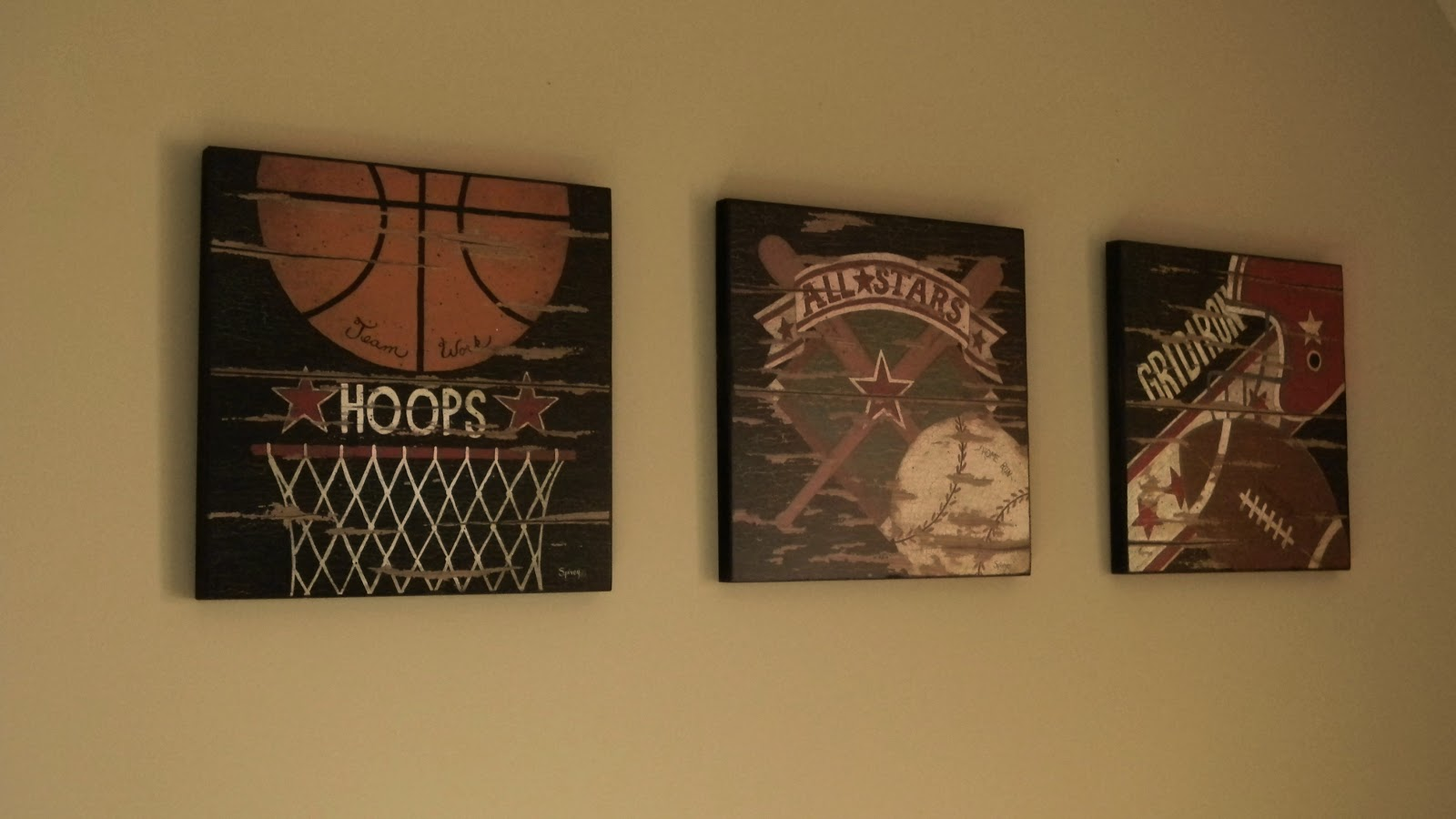 Forever Decorating Sports Theme Nursery