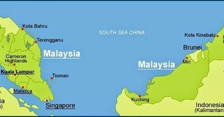 ANTHROPOLOGY OF ACCORD Map on Monday MALAYSIA and SINGAPORE