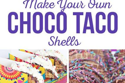 Make Your Own Choco Tacos Shells