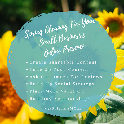 Spring Cleaning For Your Small Business's Online Presence