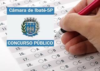 Câmara Ibaté (SP) abre inscrições do concurso público 2017