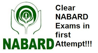 Clear NABARD Exams in first Attempt