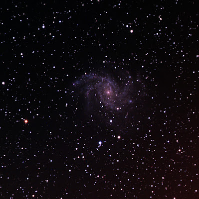 Fireworks galaxy (NGC 6946) in colour