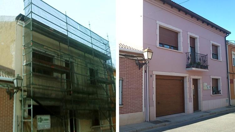 proyecto rehabilitacion y ampliacion vivienda fachada