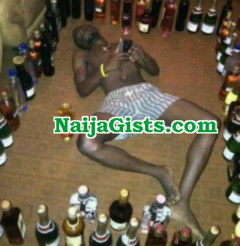 alcoholic man steals ogogoro abuja hotel