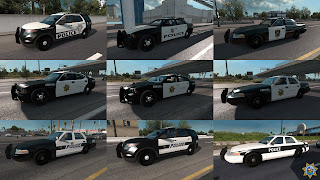 ai highway patrol pack for ats, american truck simulator mods, ats ai mods, ats ai traffic pack, ats mods, ats real street, ats realistic mods, recommendedmodsats, ats state highway patrol v1.42 screenshots4