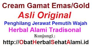 cream gamat emas obat penghilang bekas jerawat herbal yang aman dan ampuh
