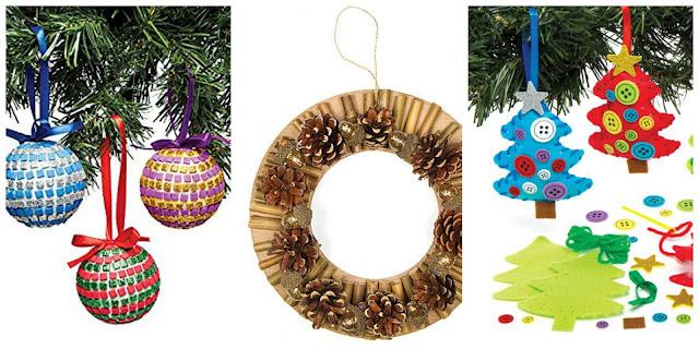 Ghirlande e decorazioni natalizie fai da te con i bambini for Decorazioni autoadesive