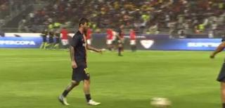 ميسى يقود برشلونة أمام إشبيلية فى كأس السوبر الإسبانى