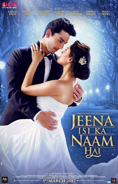 "First Look Poster of Arbaaz Khan's ""Jeena Isi Ka Naam Hai"""