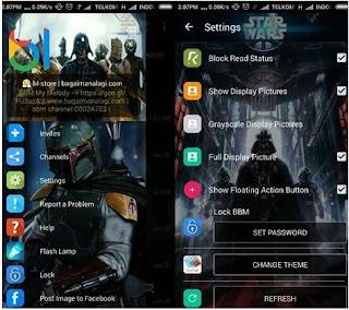 BBM Whatsapp Mod StarWars
