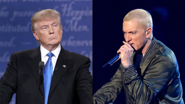 WATCH: Eminem completely annihilated Donald Trump at BET Hip Hop Awards cypher