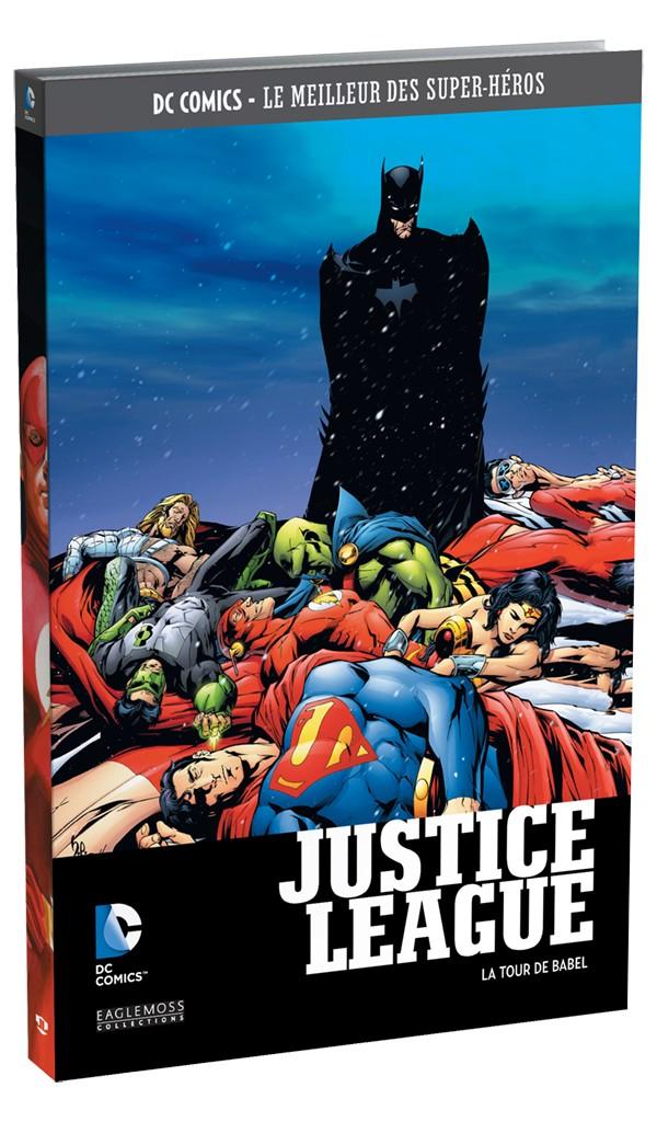 JUSTICE LEAGUE LA TOUR DE BABEL (DC COMICS LE MEILLEUR DES SUPER-HEROS TOME  6 CHEZ EAGLEMOSS) eff9702ed9c6