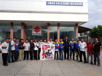 Pelepasan Suzuki Touring Road To Celebes