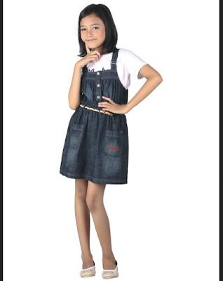 baju rok casual untuk anak perempuan