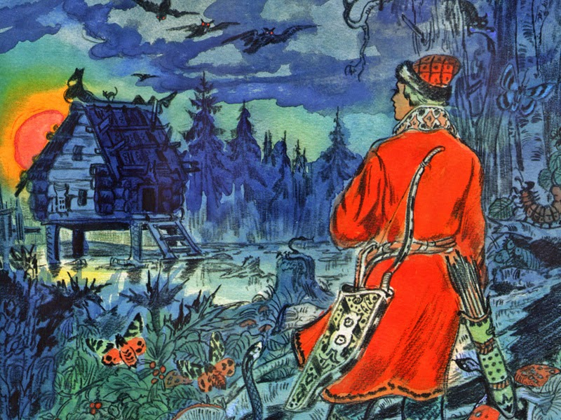 Картинки к русским сказкам о царевнах