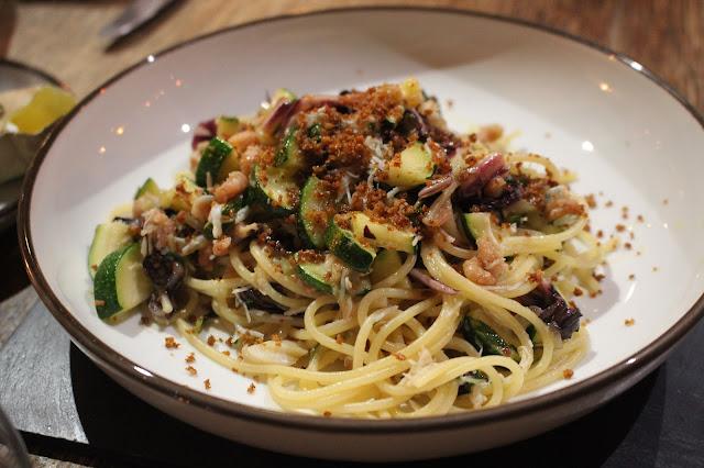 chilli crab spaghetti, The Hardwick