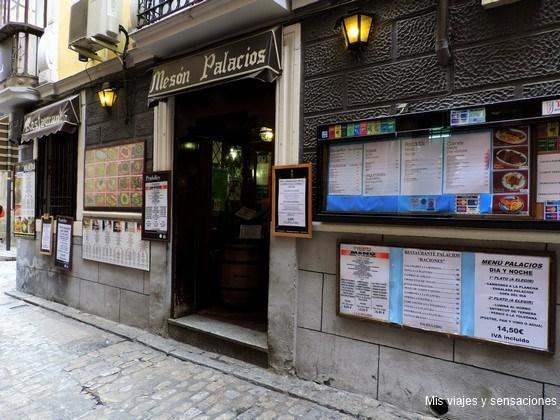 Mesón Palacios, Comer barato en Toledo