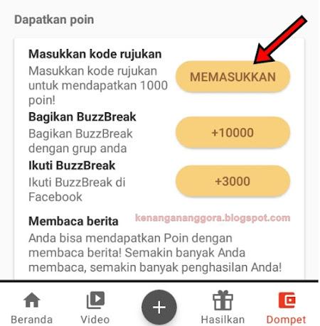Cara Daftar BuzzBreak Terbaru