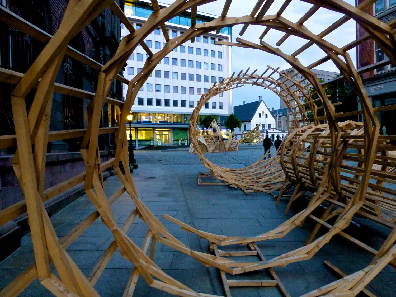 Esculturas en madera, Bergen