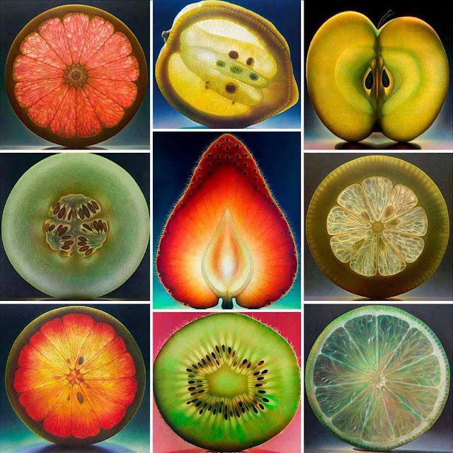 Gyümölcsök szakrális geometriája