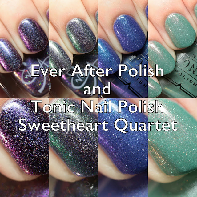 Ever After Polish and Tonic Nail Polish Sweetheart Quartet