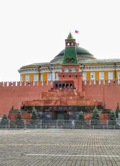 Mausoleo Lenin Plaza Roja Moscu Rusia