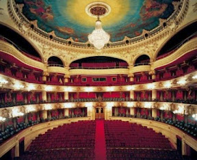 Municipal Theater in Santiago, Chile