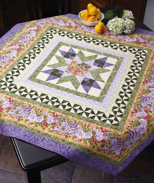 Spring Radiance Quilt was a bonus in May/June 2013 issue of Fons& Porter's Love of Quilting, designed and made by Marianne Elizabet, machine quilted by A Stitch in Time.