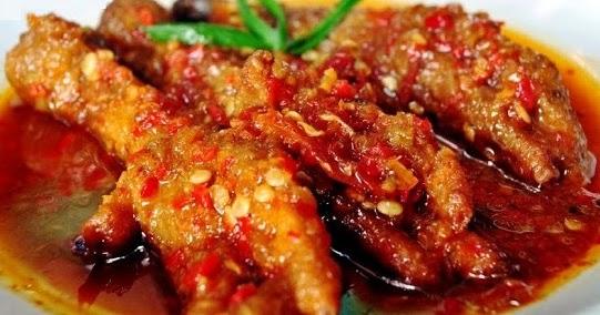 Cara Membuat Ceker Ayam Setan Khas Malang Resep Masakan