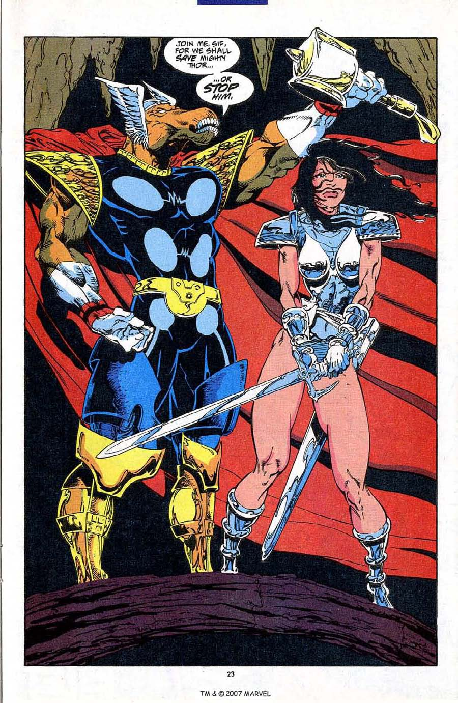 Read online Silver Surfer (1987) comic -  Issue #87 - 25