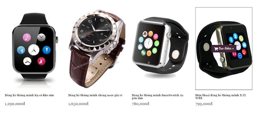 Đồng hồ thông minh giá rẻ nhất tại Tp HCM 1