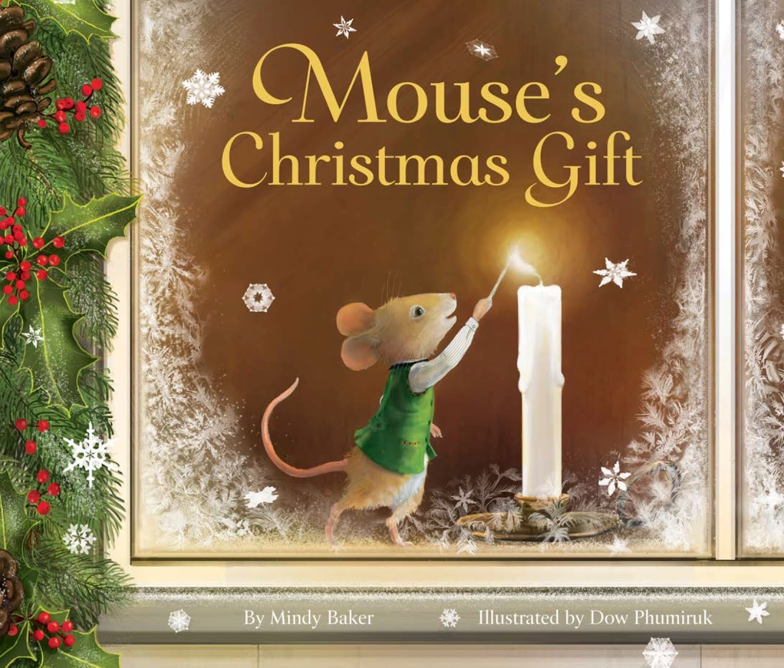 Mindy Baker Books: Cover reveal -- MOUSE\'S CHRISTMAS GIFT - my debut ...