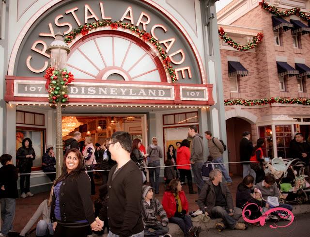 Disneyland Engagement Shoot - Crystal Arcade