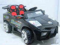 3 Mobil Mainan Aki DOESTOYS DT66 LAMBORGHINI dengan 2 Dinamo Motor