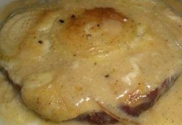 kassler sauce crème et morille, grainé, sans gluten, Montenegro